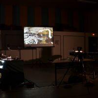 Concert dessiné de Eina! et Denis Kracht au Pax, Saint Etienne